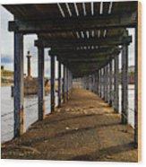 Under-section Below The West Pier Wood Print