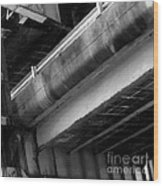 Under Structure 1 Wood Print
