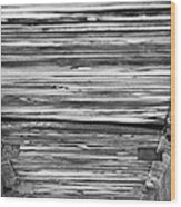 Under The Footbridge Wood Print