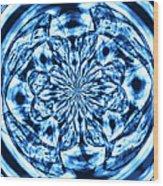Under The Microscope Wood Print
