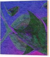 Under The Sea Painterly Wood Print