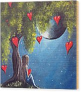 Under The Tree Of New Beginnings By Shawna Erback Wood Print