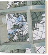 Under The Unisphere Wood Print
