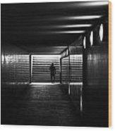 Underpass Berlin Wood Print