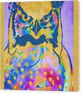 Understated Owl Wood Print