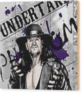 Undertaker Wood Print