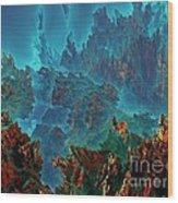 Underwater 11 Wood Print by Bernard MICHEL