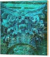 Underwater Beautiful Creation Wood Print