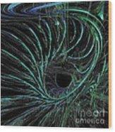 Underwater Current Wood Print