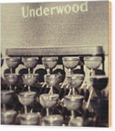 Underwood Wood Print