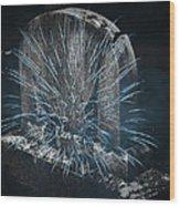 Underworld Encounter Wood Print