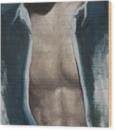 Undressing Wood Print by Jindra Noewi
