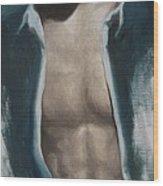 Undressing Wood Print