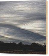 Undulatus Asperatus Skies 2 Wood Print
