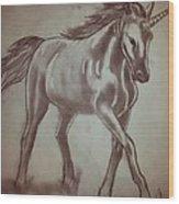Unicorn Wood Print