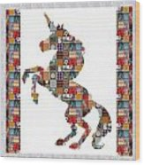 Unicorn Horse Showcasing Navinjoshi Gallery Art Icons Buy Faa Products Or Download For Self Printing Wood Print