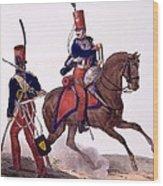 Uniforms Of The 5th Hussars Regiment Wood Print