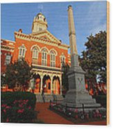 Union County Court House Wood Print