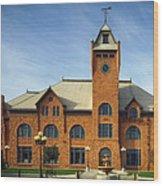 Union Depot - Pueblo Colorado Wood Print