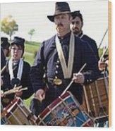 Union Drum Corps Perryville Ky Wood Print