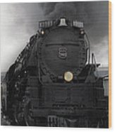 Union Pacific 3985 Wood Print