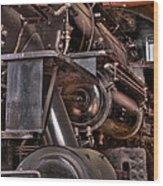 Union Pacific 4466 Wood Print