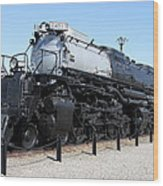 Union Pacific Big Boy Wood Print