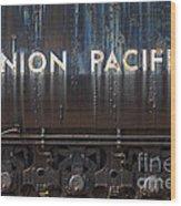 Union Pacific - Big Boy Tender Wood Print