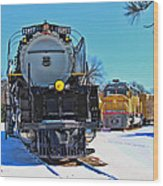 Union Pacific Challenger Wood Print