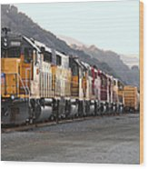 Union Pacific Locomotive Trains . 7d10563 Wood Print