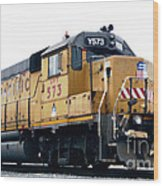 Union Pacific Yard Master Wood Print