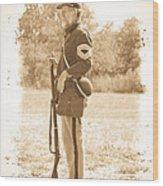 Union Soldier Wood Print
