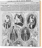 Union Soldiers Released  June 1864 Wood Print by Daniel Hagerman