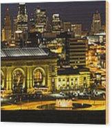 Union Station Kansas City Wood Print