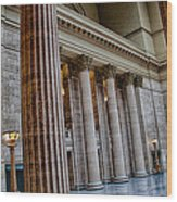 Union Station Chicago Wood Print