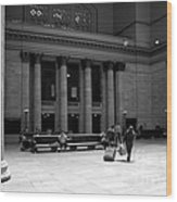 Union Station Chicago The Great Hall Wood Print