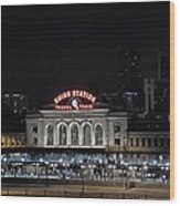 Union Station Denver Colorado 2 Wood Print