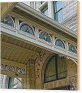 Union Station Hotel Wood Print