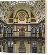 Union Station Lobby Wood Print