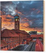 Union Station Portland Oregon Wood Print