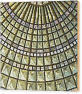 Union Station Skylight Wood Print