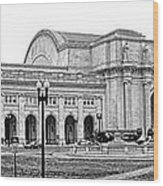 Union Station Washington Dc Wood Print