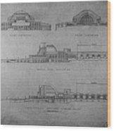 Union Terminal 1b Wood Print