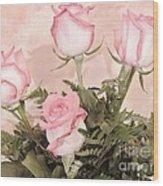 Unique Roses Wood Print