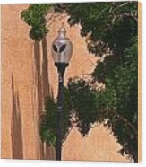 Unique Roswell Street Light Wood Print