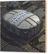 United Center Chicago Sports 09 Wood Print