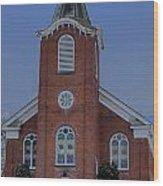 United Methodist Church Lowville Ny Wood Print