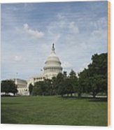 United State Capitol  Washington Dc Wood Print