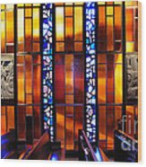 United States Air Force Academy Cadet Chapel Detail Wood Print