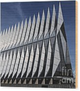 United States Air Force Academy Cadet Chapel Wood Print